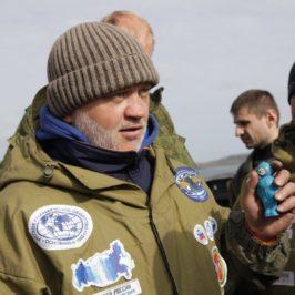 Представитель Вологодского отделения РГО Андрей Губин вновь идет на командный мировой рекорд