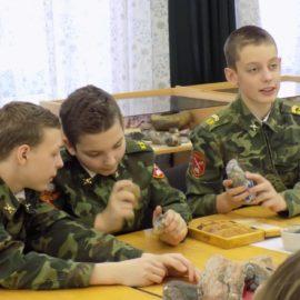 АКТИВИСТЫ Молодежного клуба РГО побывали в геологическом музее ВоГУ