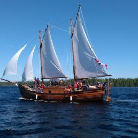 Имена детей-участников экспедиции «Вместе по Русскому Северу – 2019: Онежско-Балтийский водный путь» станут известны к середине мая.