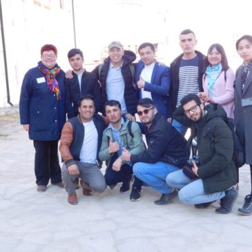 Иностранные студенты Вологодского госуниверситета познакомились с достопримечательностями региона.
