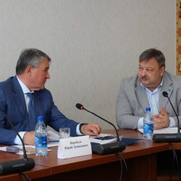 Сенатор Юрий Воробьев высоко оценил подготовку к экспедиции «Вместе по Русскому Северу-2019».