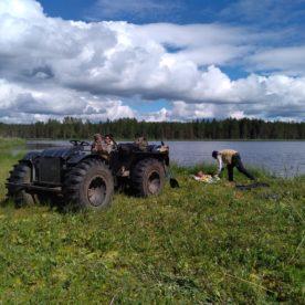 Завершена экспедиция по исследованиям озер в Вожегодском районе.