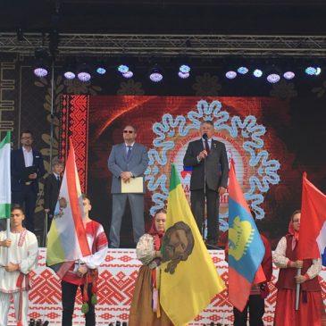 36 регионов России принимают участие в IV Всероссийском детском фестивале народной культуры «Наследники традиций».