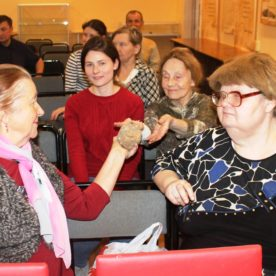 Первая в сезоне встреча проекта «Литературная минералогия» состоялась в областной библиотеке.