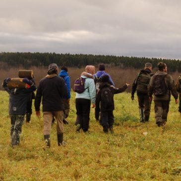 Состоялся первый поход семейной группы Клуба путешественников по малой родине, действующего под эгидой РГО.