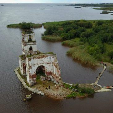 """Показы документального фильма """"Незатопленные истории Белого озера"""" в городах Вологодской области."""