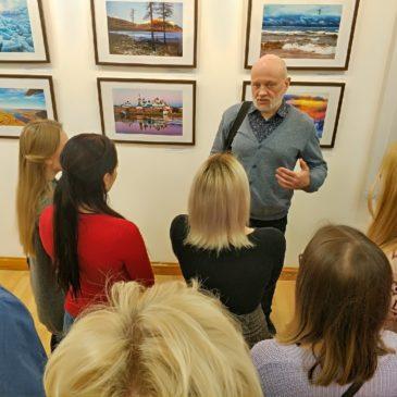 Встреча с фотохудожником и подводным пловцом Александром Губиным прошла в Вологде.