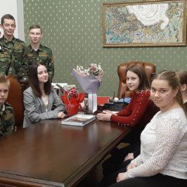 На встрече с геологом члены Молодежного клуба РГО, действующего при ВоГУ, узнали об уникальных уголках Вологодчины.