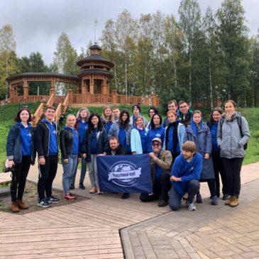С 13 по 18 сентября в Вологодской области проходит молодежный слет Русского географического общества.