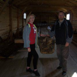 Исследования онежского деревянного судна XVII века продолжаются.