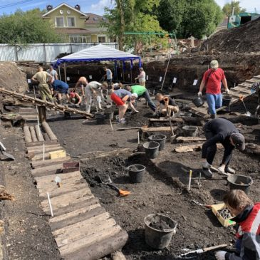 """Курс """"Волонтеры культуры: археология"""" проходят школьники из восьми муниципалитетов области"""
