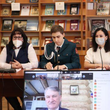 Герой России Юрий Воробьев провел урок мужества с вытегорскими кадетами