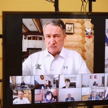 Итоги работы Вологодского отделения РГО подвели сегодня при участии зам.председателя Совета Федерации и главы региона