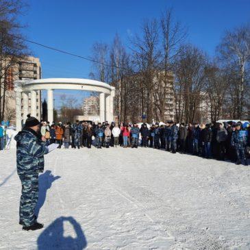 Военно-патриотическая игра «Виват Победа!» состоялась в Вологде при участии РГО