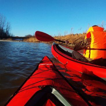 Участники молодежного клуба РГО – путешественников по малой Родине, открыли новый сезон водных походов.