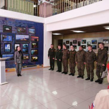 Новые подводные фотокартины водолаза-рекордсмена Александра Губина представлены на специальной выставке